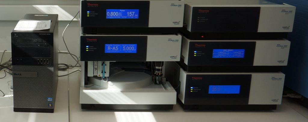 zařízení UHPLC